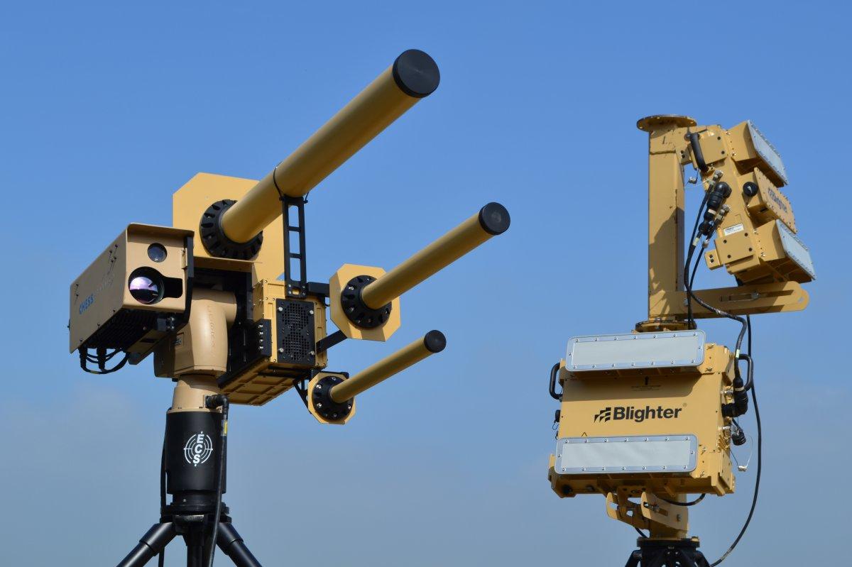 Dal Regno Unito arriva il cannone anti drone