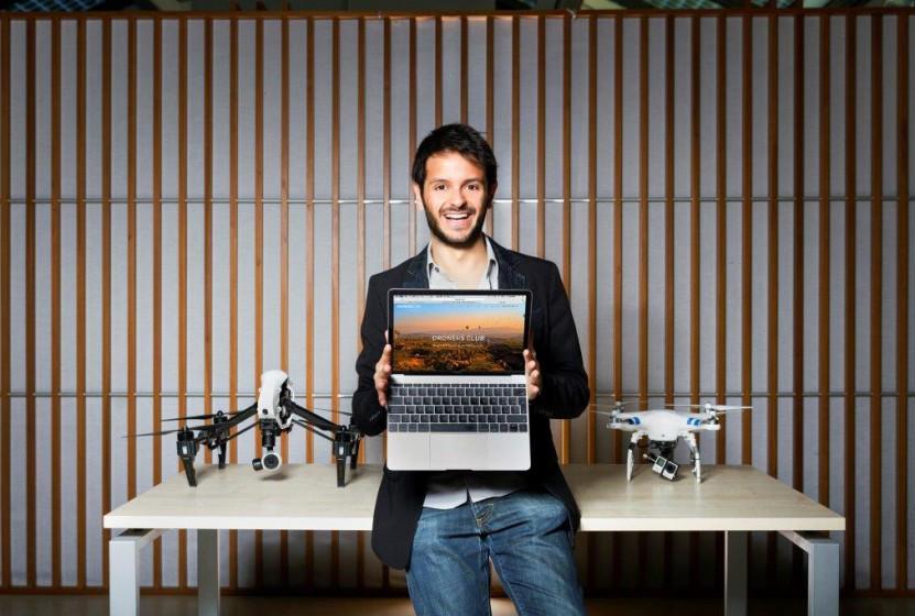 L'Airbnb dei droni si chiama DronersClub