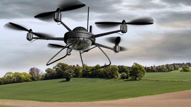 Drone per il controllo ambientale