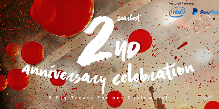 Gearbest 2nd Anniversary Celebration