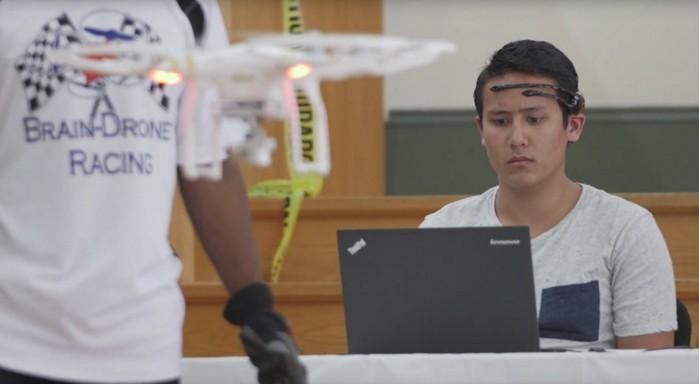Florida, i primi droni comandati con la mente