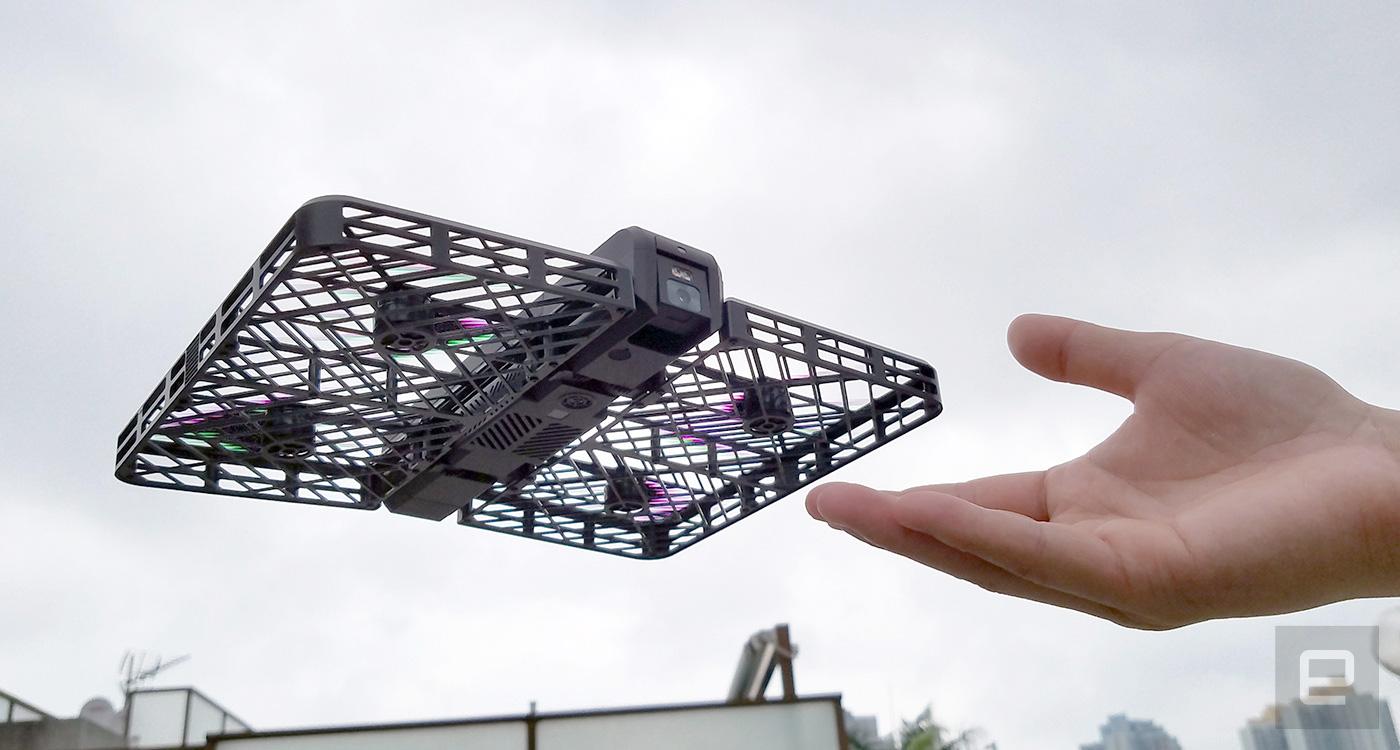 Hover Camera, la videocamera volante
