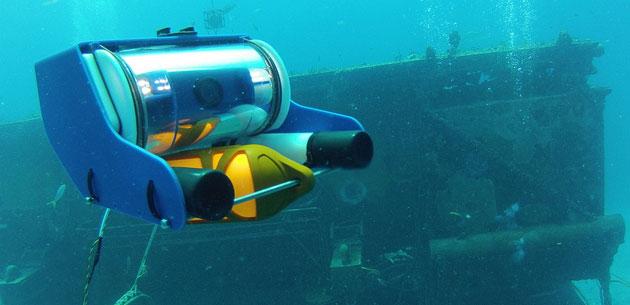 L'Italia non è da meno quando si parla di droni acquatici
