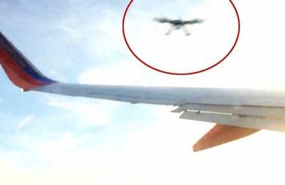 Top 5 di situazioni pericolose accadute con i droni.